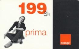 PREPAID PHONE CARD SLOVACCHIA-ORANGE (PK1991 - Slowakije