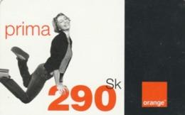 PREPAID PHONE CARD SLOVACCHIA-ORANGE (PK1992 - Slowakije