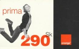 PREPAID PHONE CARD SLOVACCHIA-ORANGE (PK1993 - Slowakije