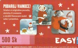 PREPAID PHONE CARD SLOVACCHIA (PK2000 - Slowakije