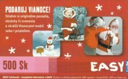 PREPAID PHONE CARD SLOVACCHIA (PK2001 - Slowakije