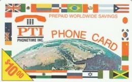 PREPAID PHONE CARD STATI UNITI (PK2037 - Andere