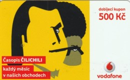 PREPAID PHONE CARD REPUBBLICA CECA-VODAFONE (PK2079 - Tsjechië