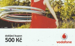 PREPAID PHONE CARD REPUBBLICA CECA-VODAFONE (PK2083 - Tsjechië