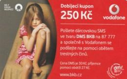 PREPAID PHONE CARD REPUBBLICA CECA-VODAFONE (PK2086 - Tsjechië