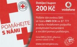 PREPAID PHONE CARD REPUBBLICA CECA-VODAFONE (PK2089 - Tsjechië