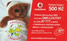 PREPAID PHONE CARD REPUBBLICA CECA-VODAFONE (PK2091 - Tsjechië