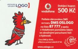PREPAID PHONE CARD REPUBBLICA CECA-VODAFONE (PK2095 - Tsjechië