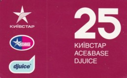 PREPAID PHONE CARD UCRAINA (PK2121 - Oekraïne