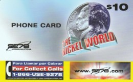 PREPAID PHONE CARD STATI UNITI (PK2129 - Verenigde Staten