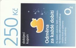 PREPAID PHONE CARD REPUBBLICA CECA (PK2152 - Tsjechië