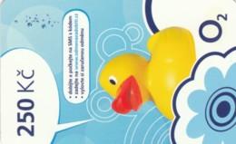 PREPAID PHONE CARD REPUBBLICA CECA  (PK2158 - Tsjechië