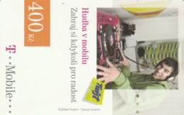 PREPAID PHONE CARD REPUBBLICA CECA - T MOBILE (PK2163 - Tsjechië