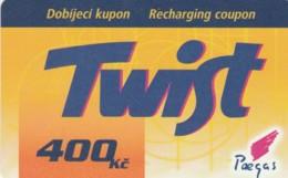PREPAID PHONE CARD REPUBBLICA CECA  (PK2166 - Tsjechië