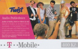 PREPAID PHONE CARD REPUBBLICA CECA - T MOBILE (PK2189 - Tsjechië