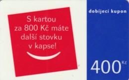 PREPAID PHONE CARD REPUBBLICA CECA  (PK2229 - Tsjechië