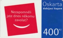 PREPAID PHONE CARD REPUBBLICA CECA  (PK2228 - Tsjechië