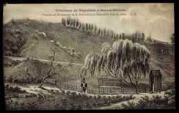 CPA ROYAUME UNI TOMBEAU DE NAPOLEON A SAINTE HELENE D'APRES UN DOCUMENT DE LA BIBLIOTHEQUE NATIONALE DATE DE 1826 J.H. - Altri
