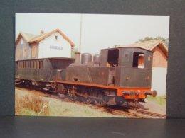 Locomotive à Vapeur 51 à Sentheim Photo N° 77-140-11 - Treni