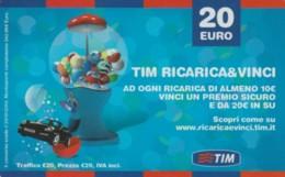 RICARICA- ITALIA TIM (PK2330 - [2] Sim Cards, Prepaid & Refills