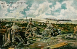 THIEPVAL CARTE ALLEMANDE 1917 - Francia