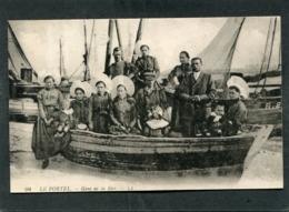 CPA - LE PORTEL - Gens De La Mer, Très Animé - Le Portel