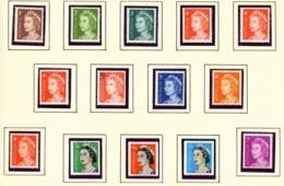 AUSTRALIA  -  1966 Page Of Decimal Definitives Unmounted/Never Hinged Mint - 1952-65 Elizabeth II : Pre-Decimals
