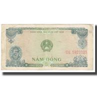 Billet, Viet Nam, 5 D<ox>ng, 1976, KM:81a, TB - Vietnam