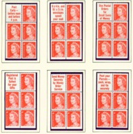 AUSTRALIA  -  1966 Page Of Decimal Definitive Booklet Panes Unmounted/Never Hinged Mint - 1952-65 Elizabeth II : Pre-Decimals