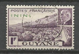 ININI N° 51 OBL - Used Stamps