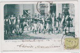 CONSTANTINOPLE POMPIERS TURCS  PRECURSEUR 1902 TBE - Turquie