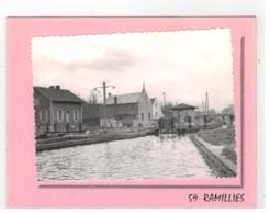 59 RAMILLIES  L'Ecluse,Pont   Fotokaart 11x8 Cm - France