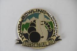 Pin's - Sport BOWLING COUNCIL BRITISH COLUMBIA - Bowling