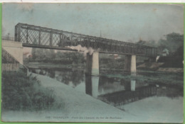 CPA (25) N°142 Couleur BESANCON Pont Du Chemin De Fe De Morteau, 5c Blanc 6/06/05 - Besancon