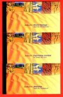 NATIONS-UNIES - 1999 - NEUFS** LUXE/MNH - LOT DE 3 CARNETS DE PRESTIGE COMPLETS - 3 BUREAUX - BOOKLETS - Gemeinschaftsausgaben New York/Genf/Wien