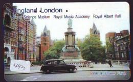 Télécarte Japon * ANGLETERRE * ENGLAND *  (443) GREAT BRITAIN RELATED * Phonecard Japan - Cultura
