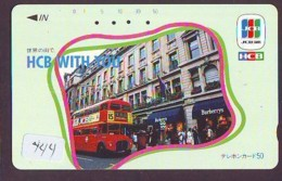 Télécarte Japon *  ANGLETERRE * ENGLAND *  (444) GREAT BRITAIN RELATED * Phonecard Japan - Cultura