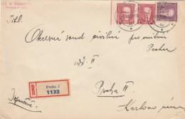 RACCOMANDATA 1931 CECOSLOVACCHIA PRAGA  (VX14 - Cartas