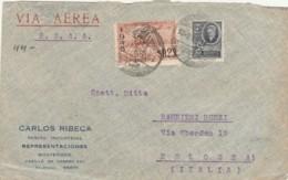 FRONTESPIZIO 1945 URUGUAY DIRETTO ITALIA (VX54 - Uruguay