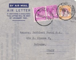 FRONTESPIZIO 1954 SINGAPORE (VX55 - Singapur (...-1959)
