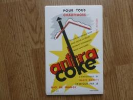 BUVARD ANTHRA COKE POUR TOUS CHAUFFAGE - Elektrizität & Gas