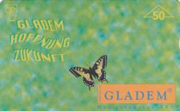 AUSTRIA - Gladem (Butterfly) , F130 CN:709L , Tirage 1010, 03/97 - Austria