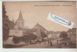 PONT-de-PLANCHES : Grande -Rue,animée. édit Meignard. - Non Classés