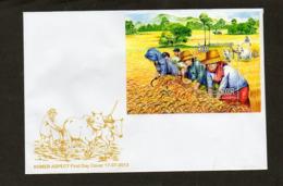 2013 CAMBODIA -  Bulls - Farm