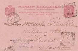 INTERO POSTALE 1894 OLANDA TIMBRO AMSTERDAM (VX157 - Postwaardestukken
