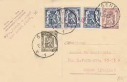 INTERO POSTALE BELGIO 1950 (VX189 - Interi Postali