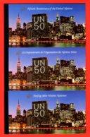 NATIONS-UNIES - 1995 - NEUFS** LUXE/MNH - LOT DE 3 CARNETS DE PRESTIGE COMPLETS - 3 BUREAUX - BOOKLETS - Gemeinschaftsausgaben New York/Genf/Wien