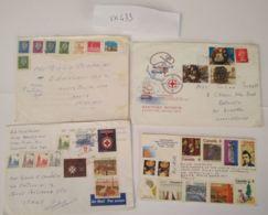4 LETTERE CANADA (VX433 - 1952-.... Regno Di Elizabeth II