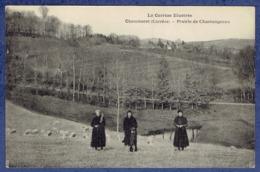 CPA CORREZE (19) - LA CORREZE ILLUSTREE - CHAMBERET - PRAIRIE DE CHASTANGEAUX - France
