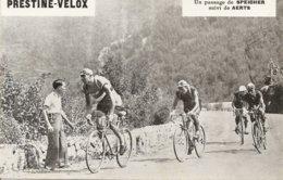 Photo Tour De France Cycliste 1933 Etape Nice  Sospel Cannes Speicher Suivi De Aerts - Ciclismo